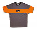 T-shirt BETA γκρι-πορτ M