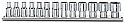 Σετ 11 καρυδάκια χειρός πολύγωνα σε ράγα