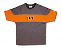 T-shirt BETA γκρι-πορτ L