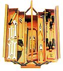 Εργαλειοθήκη 5 χώρων με 50 εργαλεία