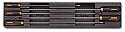 Δίσκος με συλλογή TR86 κατσαβίδια μακριά μαύρα