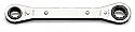 Κλειδιά με αναστρεφόμενη καστάνια 15x17