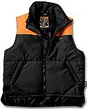 XXL Γκρι-Πορτοκαλι Γιλεκο
